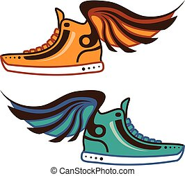 wing., chaussure, fast.
