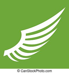 Wing icon green