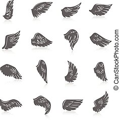 Wing Icon Set