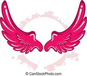wing pattern.