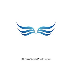 Wing Logo Template