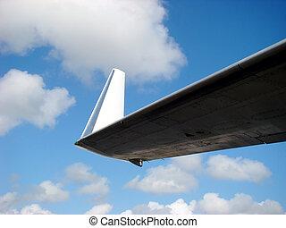 Wing tip detail