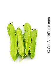 Winged bean - Green Winged Beans, Vegetable isolated On...