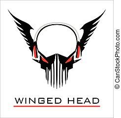 winged head.eps