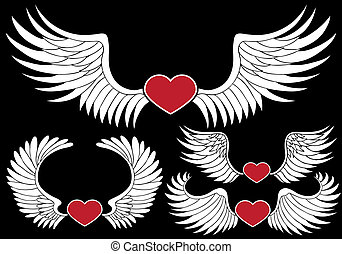 Winged Heart Set