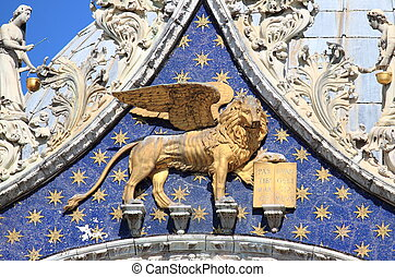 Winged lion of Venice