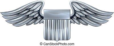 Winged Shield United States Design