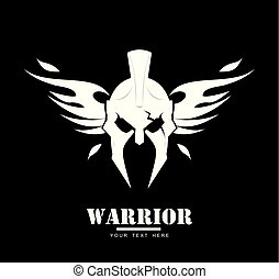 winged Warrior head.eps