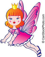 wings., 王女