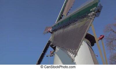 Wings of the windmill in Leiden.
