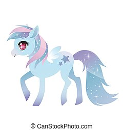 wings., pony, colorito