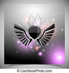 wings., résumé, fond