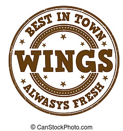 Wings stamp