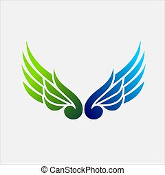 Wings Vector Logo