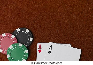 Wining Poker hand