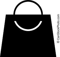 winkel, zak, symbool