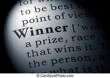 winnaar