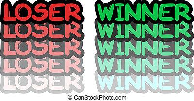 winnaar, verliezer
