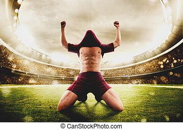 winnaar, voetbal