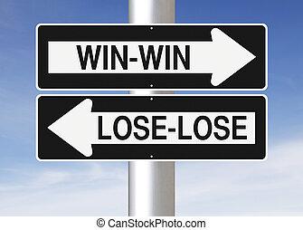 winnen, of, verliezen