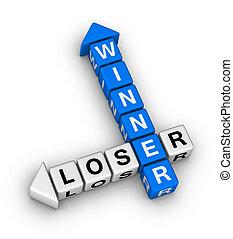 winner and loser