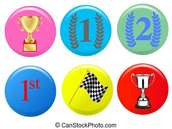 Winner badges