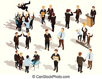 Winner Business People Set