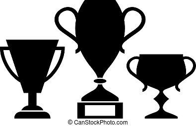 Winner cups icon