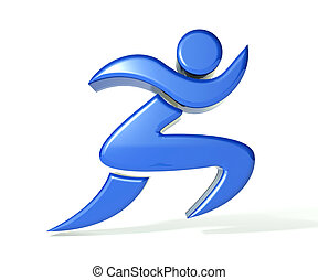 Winner figure logo