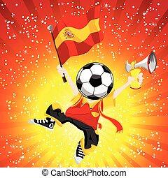 winner., football, espagne