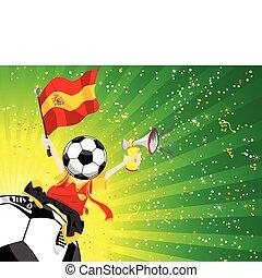 winner., futebol, espanha