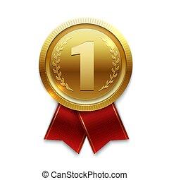 Winner gold medal seal clip art - Search Illustration ...