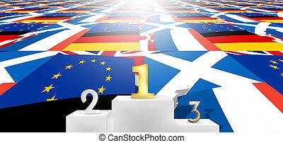 winner loser united kingdom flags fpr example brexit winner