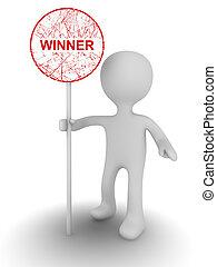 winner person