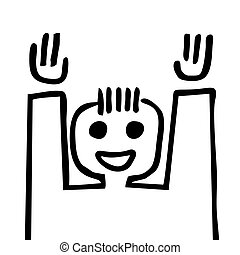 Winner puppet