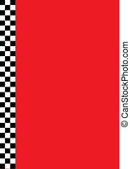 winners checkered flag border