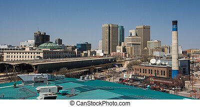 Winnipeg Skyline - Winnipeg, Manitoba, Canada