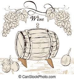 Wino, etykieta
