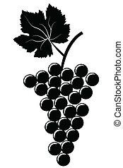 winogrona, grono