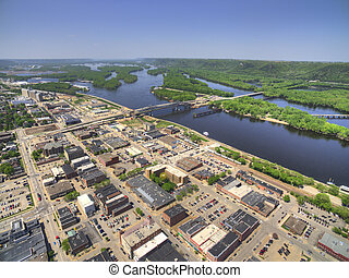 Winona is a Community in Southern Minnesota on the Mississippi River