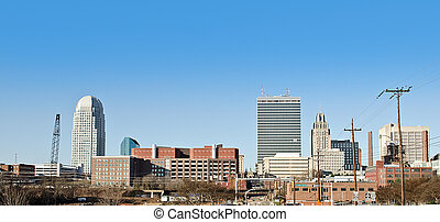 Winston salem down town during day - Picture of the winston...