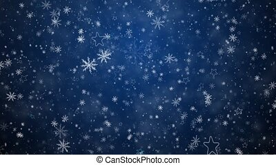 winter, achtergrond, kerstmis