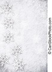 winter, achtergrond, sneeuw