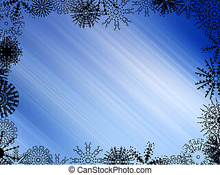 winter, achtergrond