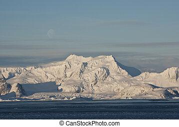 Winter Antarctica.