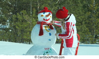 Winter artist