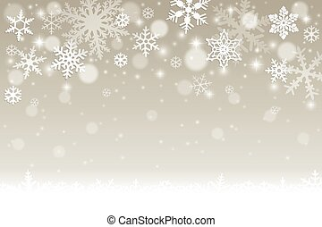 Winter background - Abstract winter background with falling...