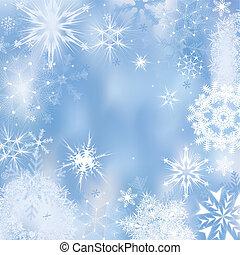 Winter background - Dreamlike winter background. Vector...