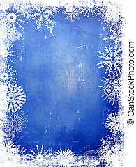 Winter Background - Winter style grunge background