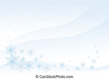 Winter Background (illustration) - Winter Background (XXL...